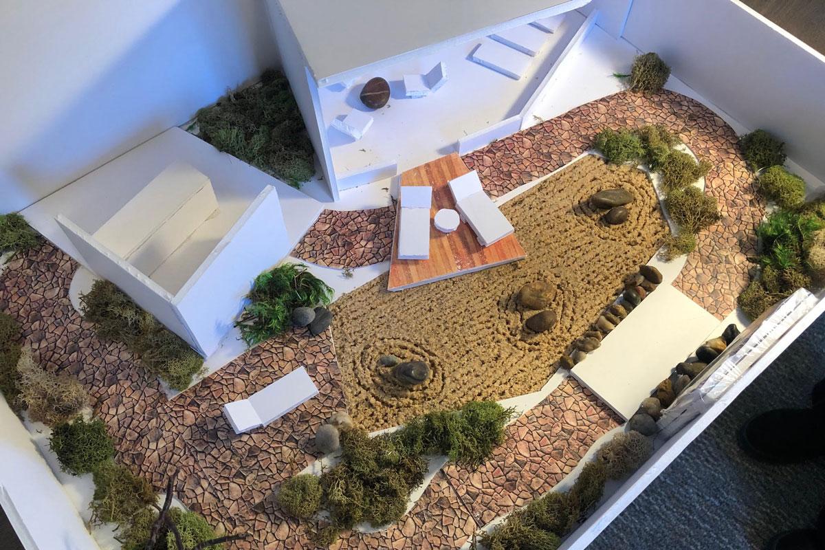Student 3d Landscape Models Helianthus Articles