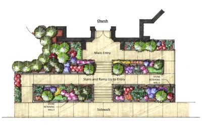 Community Service Landscape Design at Plymouth Church